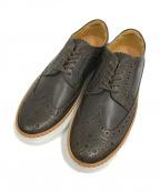 Pantofola dOro(パントフォラドーロ)の古着「ウィングチップスニーカー」|ブラウン