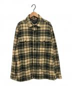 FILSON(フィルソン)の古着「シャツジャケット」|ベージュ×グリーン