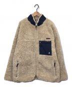 GRAMICCI()の古着「フリースジャケット」|ベージュ