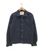 Stevenson Overall Co.(スティーブンソンオーバーオール)の古着「ショートワークジャケット」|ネイビー