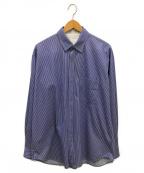 CURLY(カーリー)の古着「ストライプシャツ」 ブルー