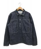 SAMURAI JEANS(サムライジーンズ)の古着「デニムプルオーバーシャツ」|インディゴ