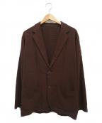 UNITED ARROWS TOKYO()の古着「TA/VI/LIシャツジャケット」|ブラウン
