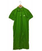 PRADA(プラダ)の古着「ポロワンピース」|グリーン