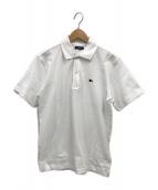 BURBERRY LONDON(バーバリーロンドン)の古着「鹿の子ポロシャツ」|ホワイト
