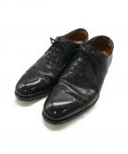 GRENSON(グレンソン)の古着「ストレートチップシューズ」|ブラック