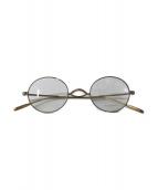 ()の古着「伊達眼鏡」|ゴールド