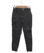 AKM(エーケーエム)の古着「ショガーカーゴパンツ」|ブラック