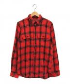 FILSON(フィルソン)の古着「フランネルチェックシャツ」|レッド×ブラック