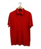 Zanone(ザノーネ)の古着「ポロシャツ」 レッド
