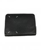 Maison Margiela 11(メゾンマルジェラ 11)の古着「2つ折り財布」|ブラック