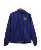 F.C.R.B.×NIKE(エフシーリアルブリストル×ナイキ)の古着「Warm Up Jacket」|ブルー