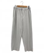 HOMME PLISSE ISSEY MIYAKE()の古着「ベーシックプリーツパンツ」|グレー