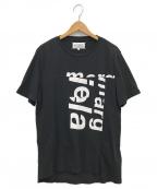 Martin Margiela 10(マルタンマルジェラ 10)の古着「再構築デザインTシャツ」|ブラック
