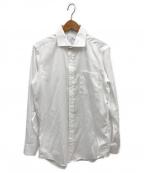 ck Calvin Klein(シーケーカルバンクライン)の古着「リファインドシャドウストライプシャツ」|ホワイト