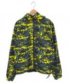 Calvin Klein Jeans(カルバンクラインジーンズ)の古着「REVERSIBLEフード付きジップアップジャケット」 マルチカラー