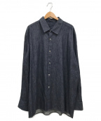 Edwina Horl()の古着「オーバーデニムシャツ」|インディゴ