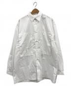 E.TAUTZ(イートーツ)の古着「CORE LINEMAN SHIRT」|ホワイト