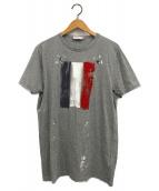MONCLER(モンクレール)の古着「MAGLIA T-SHIRT」|グレー