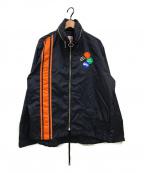 Palm Angels(パームエンジェルス)の古着「Patch Windbreaker Jacket 」|ネイビー