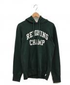 REIGNING CHAMP(レイニングチャンプ)の古着「IVY LEAGUE HOODY」 グリーン