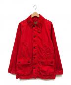 Barbour(バブアー)の古着「ビデイルジャケット」|レッド