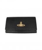 Vivienne Westwood(ヴィヴィアンウエストウッド)の古着「長財布」|ブラック