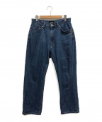 X-LARGE(エクストララージ)の古着「EMBROIDERY DENIM PANT」|インディゴ