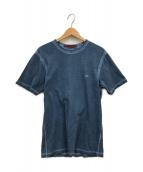 ()の古着「I.C.E SMALL LOGO T-SHIRT」 ブルー