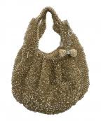 ANTEPRIMA(アンテプリマ)の古着「ワイヤーバッグ」|ゴールド