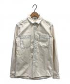 Ron Herman(ロンハーマン)の古着「ヴィンテージ加工デニムシャツ」|ホワイト