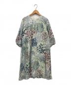 marimekko(マリメッコ)の古着「KUKKAMERI」|グリーン