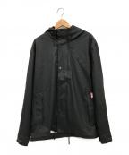 HUNTER(ハンター)の古着「ライトウェイトラバーライズドボンバージャケット」|ブラック