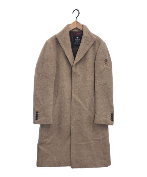 LOVELESS(ラブレス)LOVELESS (ラブレス) アルパカベルテッドコート ベージュ サイズ:2の古着・服飾アイテム