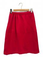 me ISSEY MIYAKE()の古着「プリーツスカート」|ピンク