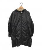 MONCLER(モンクレール)の古着「OMBRE/オンブルナイロンコート」 ブラック