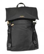 TUMI(トゥミ)の古着「サシャ フラップ バックパック」 ブラック