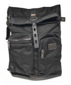 TUMI(トゥミ)の古着「Luke Roll Top Backpack」 ブラック