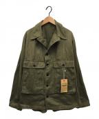 WAREHOUSE(ウェアハウス)の古着「2143 USN ヘリンボーン ジャケット」|カーキ