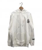 GOOD NIGHT 5TORE(グッドナイトストア)の古着「プルオーバーパーカー」|ホワイト