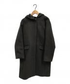 IENA(イエナ)の古着「二重織りシャルムフードコクーンコート」|グレー