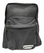 OUTDOOR × Ronherman(アウトドア×ロンハーマン)の古着「レザーバックパック」|ブラック