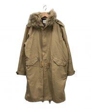 beautiful people (ビューティフルピープル) double cloth mods coat ベージュ サイズ:M
