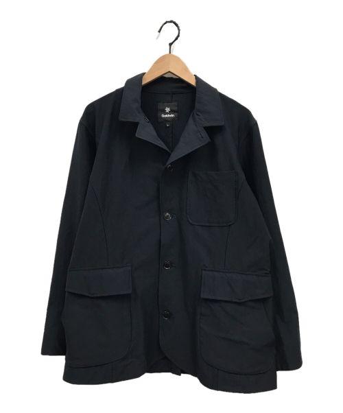 GOLDWIN(ゴールドウイン)GOLDWIN (ゴールドウイン) カバーオール ジャケット ネイビー サイズ:Lの古着・服飾アイテム