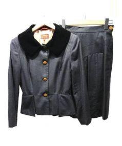 V.W. RED LABEL(ヴィヴィアン ウエストウッド レッドレーベル)の古着「セットアップスーツ」|グレー
