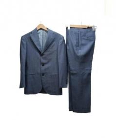 Custom Tailor BEAMS(カスタムテーラービームス)の古着「セットアップスーツ」|ネイビー