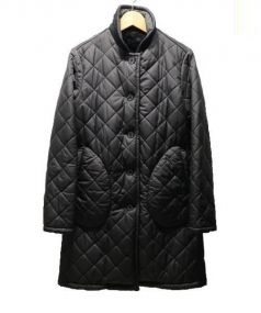 MACKINTOSH(マッキントッシュ)の古着「裏ボアキルティングコート」 ブラック