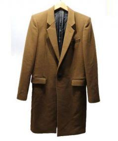 JOHN LAWRENCE SULLIVAN(ジョンローレンスサリバン)の古着「チェスターコート」 ブラウン