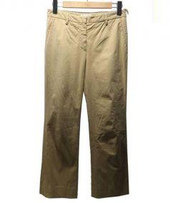 PRADA(プラダ)の古着「ストレートパンツ」|ベージュ