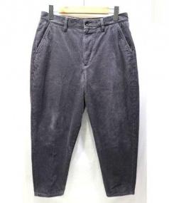 Steaven Alan(スティーブンアラン)の古着「RISBANE MOSS CORD PEGTOP-J/パンツ」|チャコールグレー